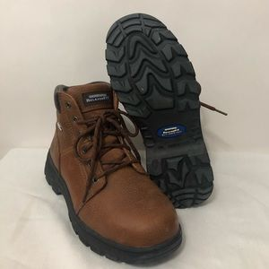 Skechers RELAXED FIT STEEL TOE BOOTS